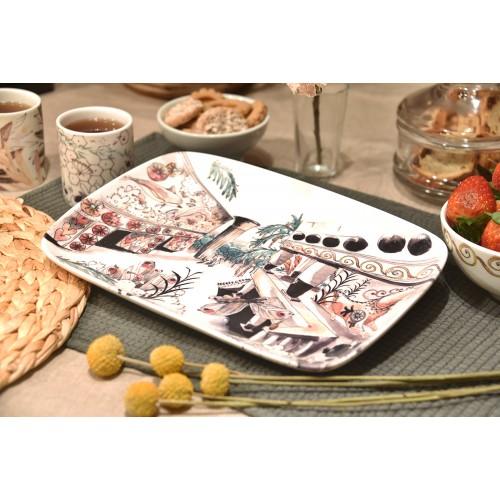 PSICÓPTEROS Y ALGOS Tableware